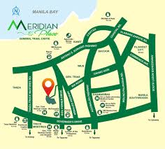 Prime Meridian Map Meridian Place Filinvest