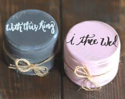 with this ring i thee wed i thee wed box etsy