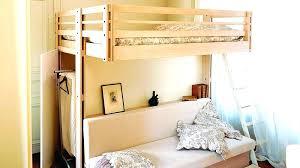 lit mezzanine avec canapé convertible fixé lit en hauteur avec canape lit mezzanine avec banquette futon lit