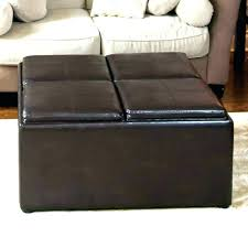 faux leather coffee table square leather ottoman coffee table square faux leather coffee table