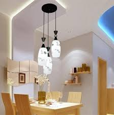 Hanging Lights For Dining Room Discount 3 Heads E27 Pendant Lights Dining Room Decoration 3 Lamps
