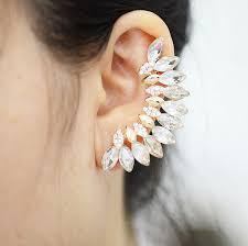 one ear earring hot fashion style earrings jewlery leaves design top grade