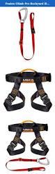 fusion climb pro backyard zip fk a hl 02 line kit harness lanyard
