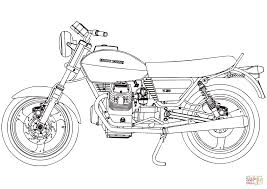 moto guzzi v50 coloring page free printable coloring pages