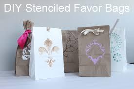favor bags diy favor bag ideas
