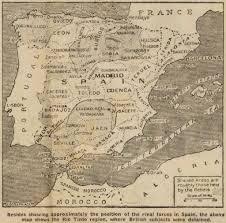 Timeline Maps Illustrated Timeline Of The Spanish Civil War Short