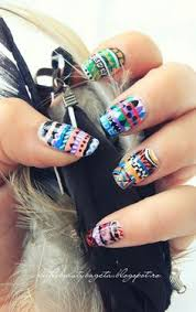 fingernã gel design zum selber machen nails acrylic nails tribal nails nails