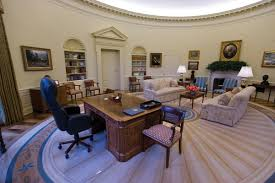 the oval office behind the lens when the president heard the