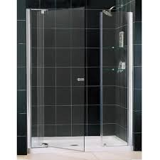 36 Shower Doors Dreamline Frameless Pivot Shower Door And Slimline 36 By