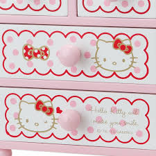 kitty mini small size chest drawers ribbon sanrio japan