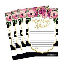 wishing and groom the best snagshout 50 4x6 floral wedding advice well wishes for the