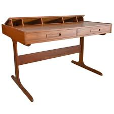 Danish Modern Teak Desk by Danish Modern Teak Pop Up Desk At 1stdibs