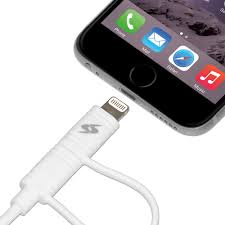 2 meter feet cable with 2 in 1 micro usb 3 2 feet 1 meter white