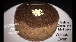 eggless chocolate mud cake without oven chocolate cake recipe