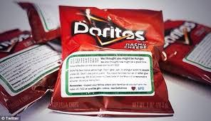 Coolest Doritos Bag Child U0027s Cops Care Munchies Giving Seattle Marijuana