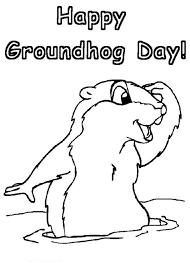 groundhog coloring pages free printable groundhog