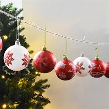 ws christmas decorations balls 24pcs 32 8 online shopping