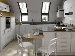 kitchen lovely white kitchen with ceiling windows and modern