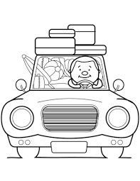 summer vacation coloring free printable coloring pages