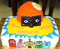 yo gabba gabba cakes u2013 decoration ideas birthday cakes