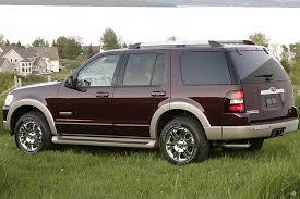 2007 ford explorer eddie bauer reviews 2007 ford explorer overview cars com