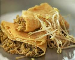 cuisiner les germes de soja crêpes farcies aux germes de soja avec thermomix plat et recette