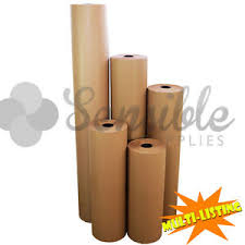heavy duty quality ribbed thick brown kraft packing wrapping paper