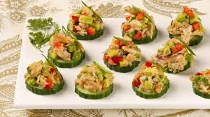 crab canapes crab and avocado canapes best recipes