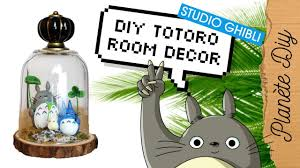 diy ghibli totoro terrarium re upload home decor youtube