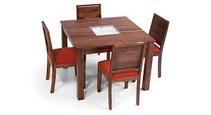 4 Seater Dining Table And Chairs Cedar 4 Seater Dining Table Sets House