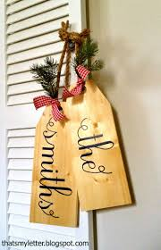 Wood Craft Ideas For Christmas Gifts by Get 20 Christmas Name Tags Ideas On Pinterest Without Signing Up