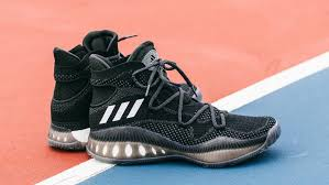 adidas crazy explosive close up look at the adidas crazy explosive primeknit black