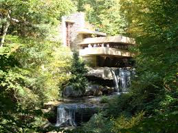 nature landscape waterfall long exposure frank lloyd wright trees