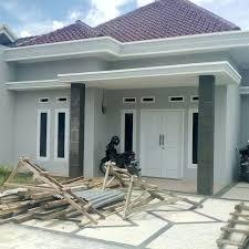 contoh desain model gambar rumah minimalis 2 lantai terbaru cv
