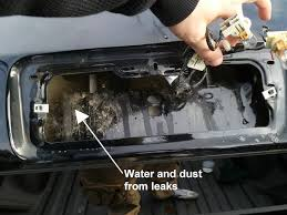 dodge ram clearance lights leaking how to fix a ford f 150 third brake light water leak