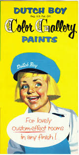 papergreat vintage pamphlet touting the dutch boy color gallery