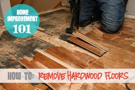 home improvement how to remove hardwood floors it and it