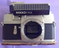 film camera light meter nikon nikkorex f slr film camera body and light meter ebay