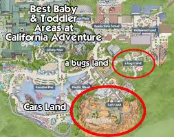map of california adventure how to take your baby to disneyland and how to enjoy the parks