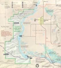 Isu Map Hagerman Fossil Beds