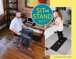 Standing Desk Mats by Standing Desk Accessories Standing Desk Chair Mat Lcd Arm Desk