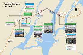 New York Penn Station Map Hudson Tunnel Project On Track To Start Construction Early 2018