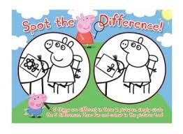 peppa pig spot difference hundreds fun free