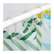 Plastic Shower Curtain Hooks Plastic Shower Curtain Hooks Ebay