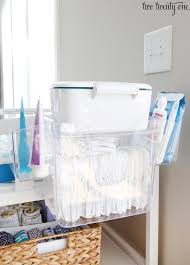 Changing Table Caddy Changing Table Organization