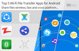 android transfer app top 5 wi fi file transfer apps for android files wirelessly