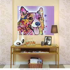corgi dog dean russo pop art wall decal pet wall decor bizrate store ratings summary