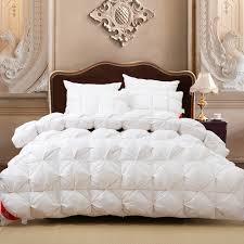 new white goose quilts comforter bedding sets warm duvet bed
