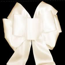 ivory ribbon bows wreath bows outdoor bows ribbon