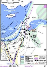 Gulf Of Aqaba Map Late Oligocene And Miocene Different Seaways To The Red Sea U2013gulf